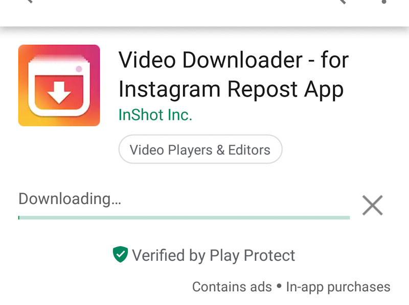 Instagram Verified Symbol Text