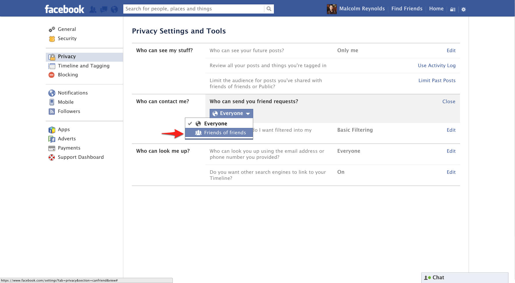 how to see sent friend requests on facebook android