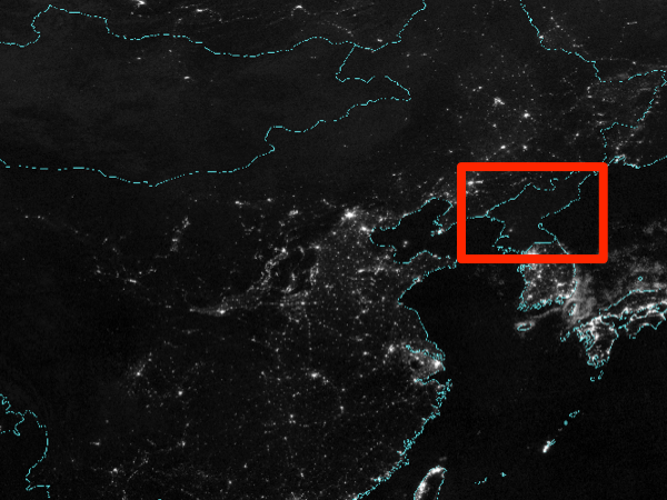 North korea from space 1992 vs 2010 business insider india gumiabroncs Choice Image