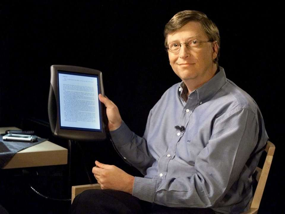 Bill Gates Ipad Bill Gates Was The Only Person