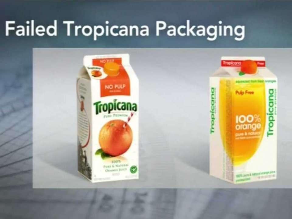 Tropicana Logo Change This Logo Change Caused