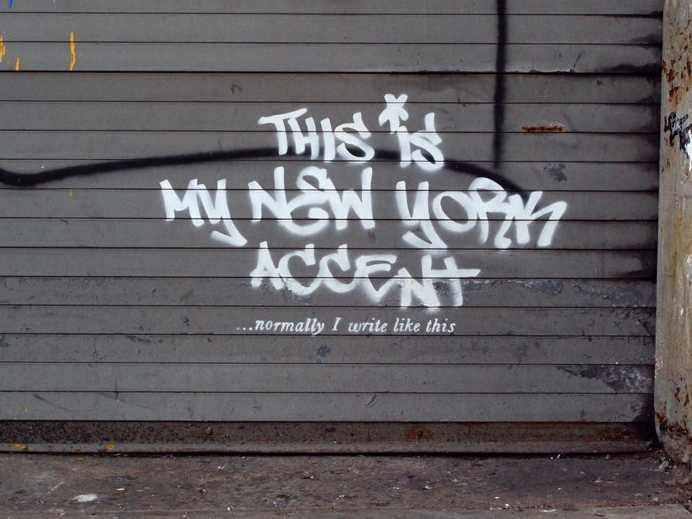 Banksy Tags The West Side In NYC Artwork #2