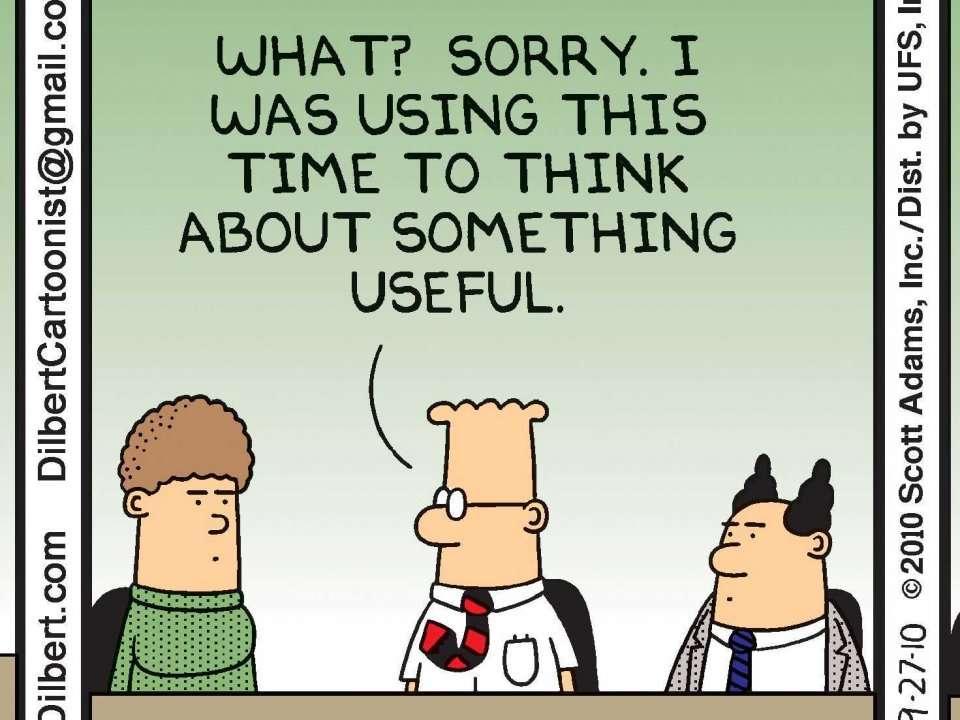 Technology Management Image: Dilbert Creator Scott Adams Presents His 10 Favorite