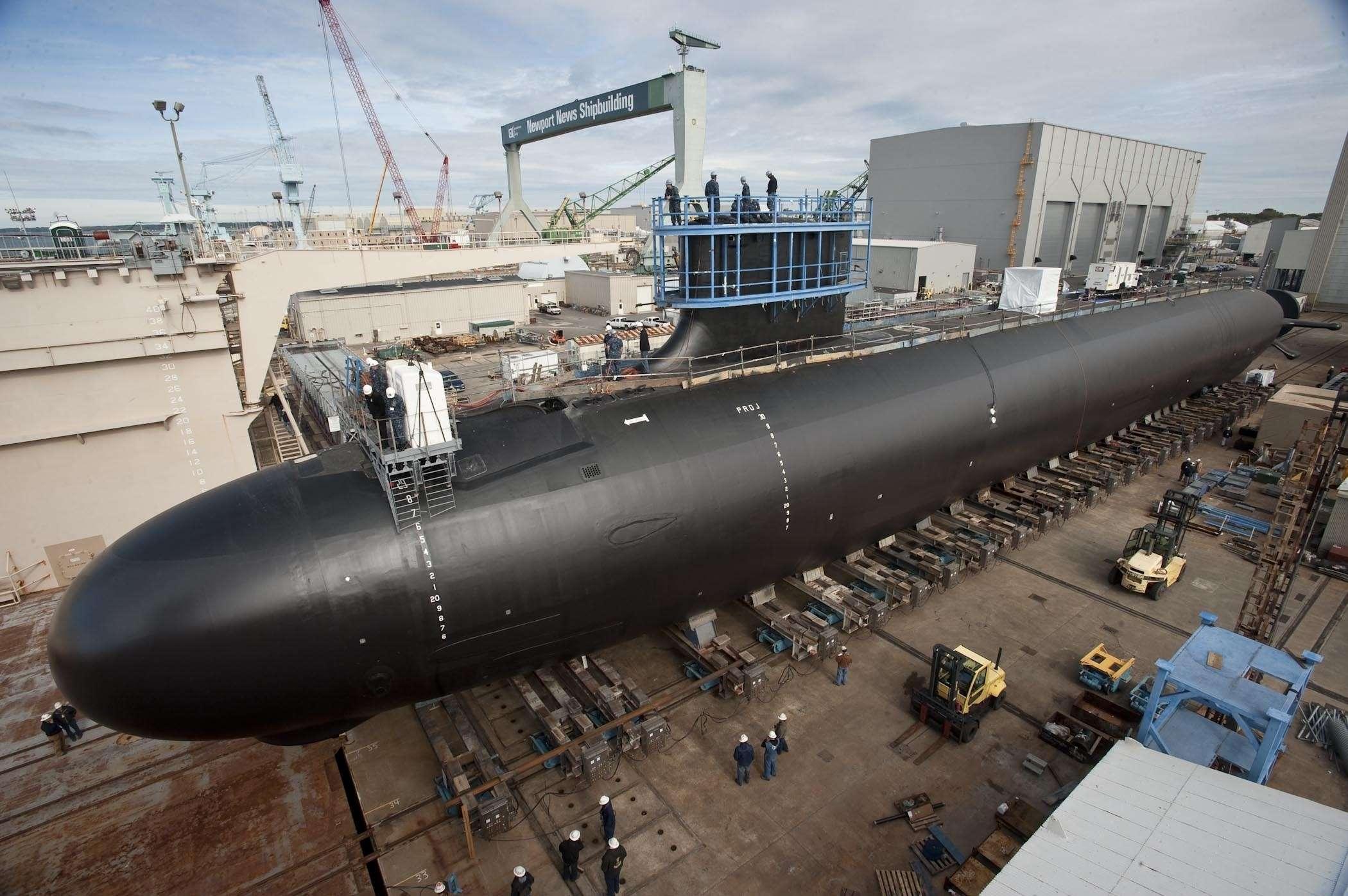 подводная лодка у америки фото