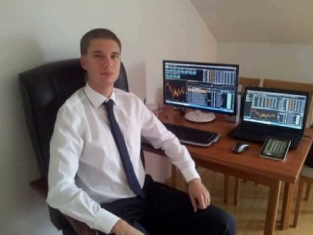 Young forex traders