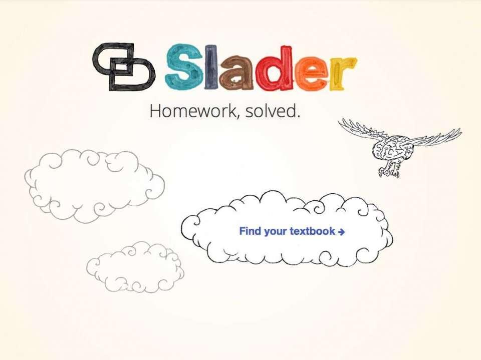 slader homework help