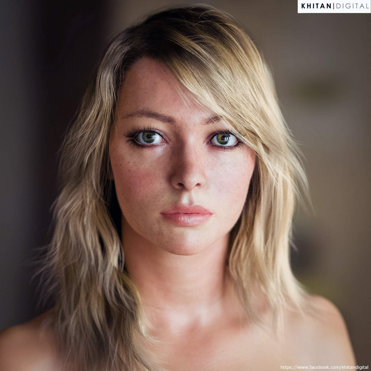 Most realistic 3d cgi sexy pic