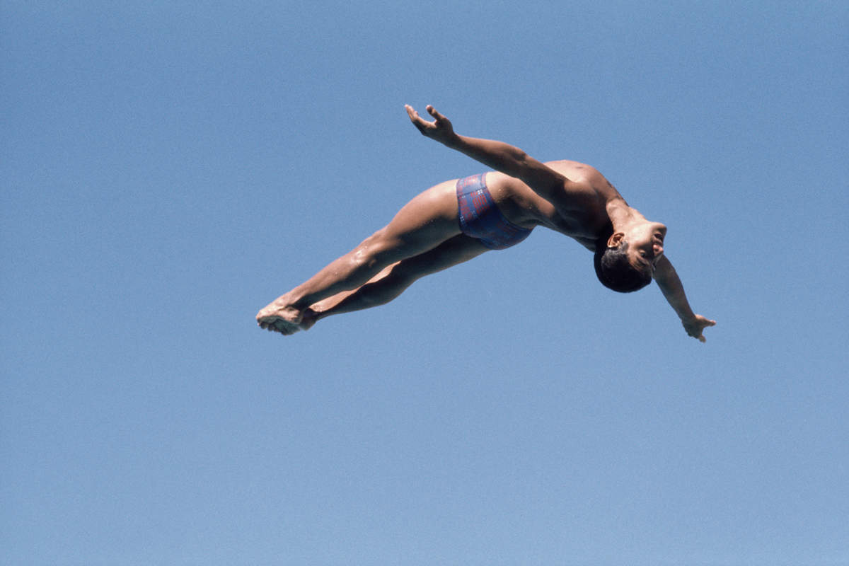 At The 1976 Olympics 16 Year Old Greg Louganis Cozied Up To The Soviet Diving Team And Saw One