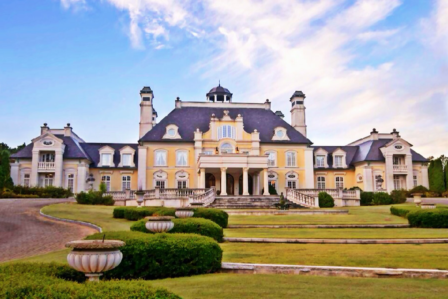 Welcome to the mini versailles in birmingham alabama it for Biggest house in usa