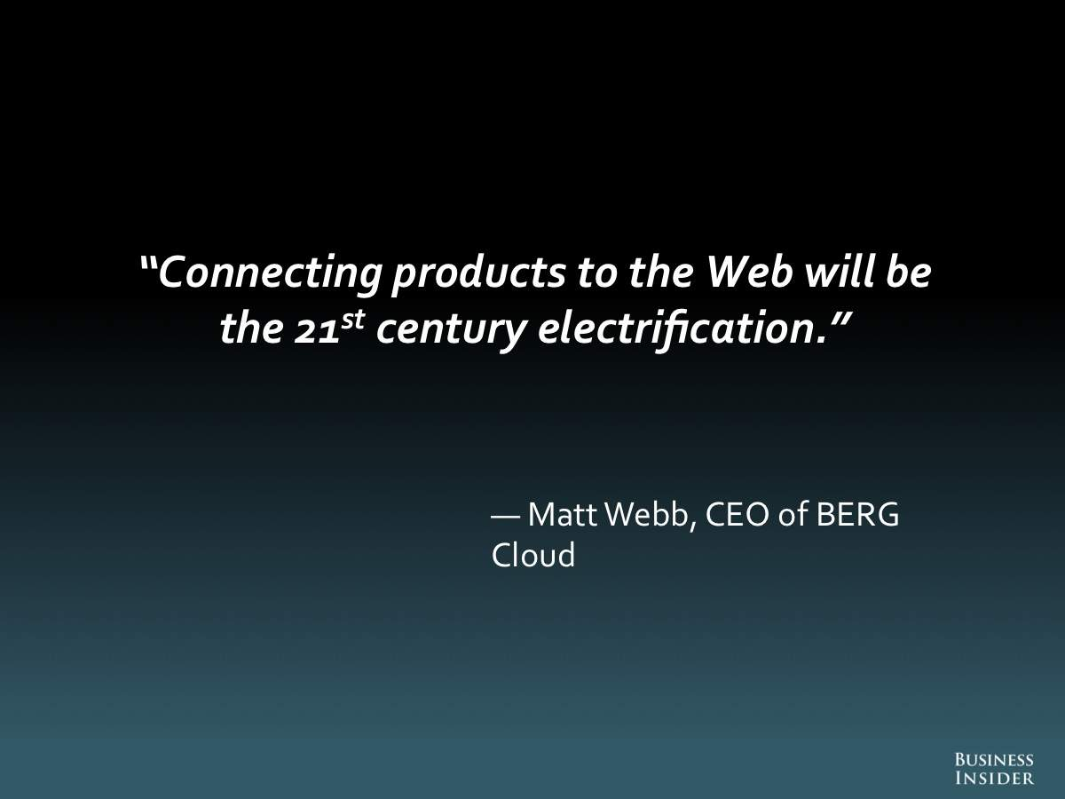 THE INTERNET OF EVERYTHING: 2014 [SLIDE DECK]