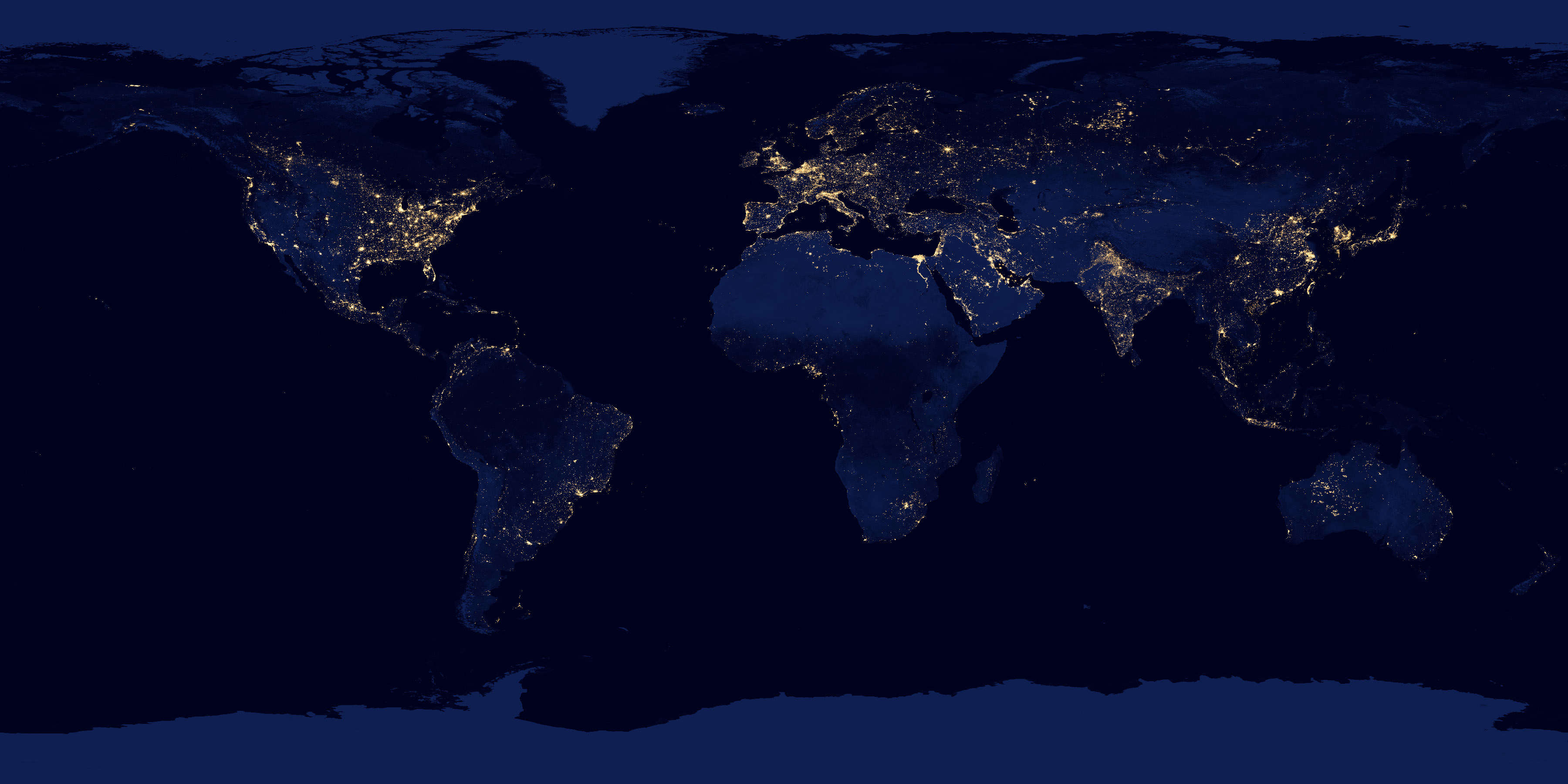 In December 2012, NASA and NOAA released the most detailed