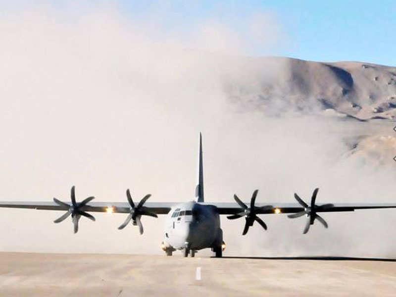 Did Iaf S Us Made C 130j Super Hercules That Crashed Have