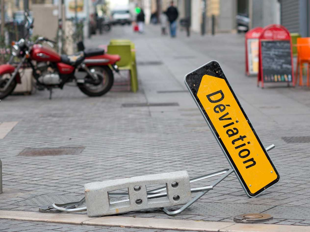 If you were a street sign, what would you be?