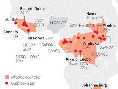 MAP: This Is The Worst Ebola Outbreak The World Has Ever Seen ... Mapping Ebola Outbreak World on ebola outbreak canada, ebola outbreak headlines, ebola outbreak ghana, ebola outbreak regions, ebola outbreak west africa, ebola outbreak pbs, ebola outbreak history, ebola outbreak africa map, ebola outbreak united states, ebola outbreak morocco,