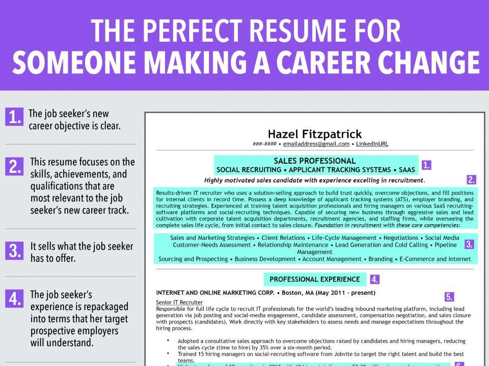 7 Reasons This Is An Ideal Resume For Someone Making A Career Change