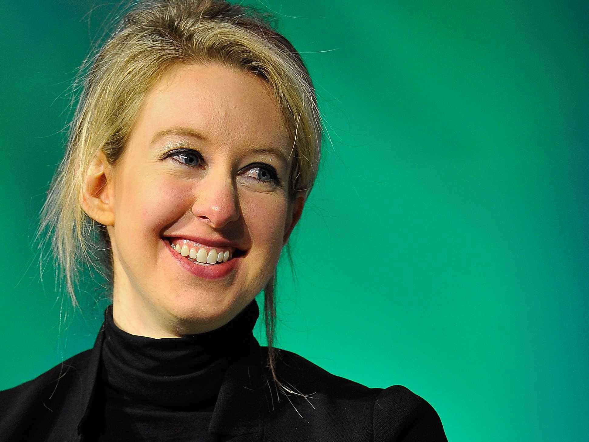 Elizabeth Holmes Started Her Blood Diagnostics Company When She Was 19 Now At 30 She S A
