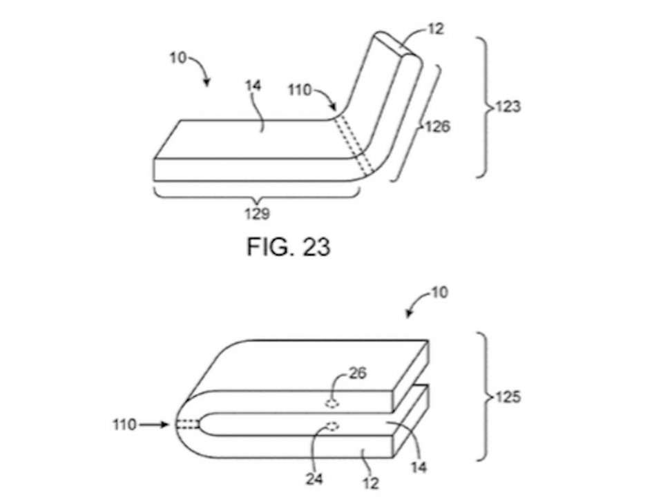Apple Has Patented A Flexible iPhone That Can Be Bent In Half