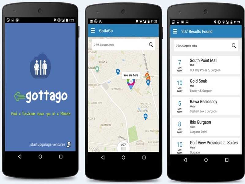 New app GottaGo will help you answer nature's call stress free