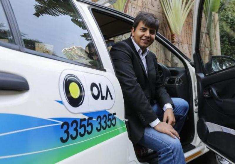 Ola cab is in top gear! It's the third-most valuable venture-backed company in India
