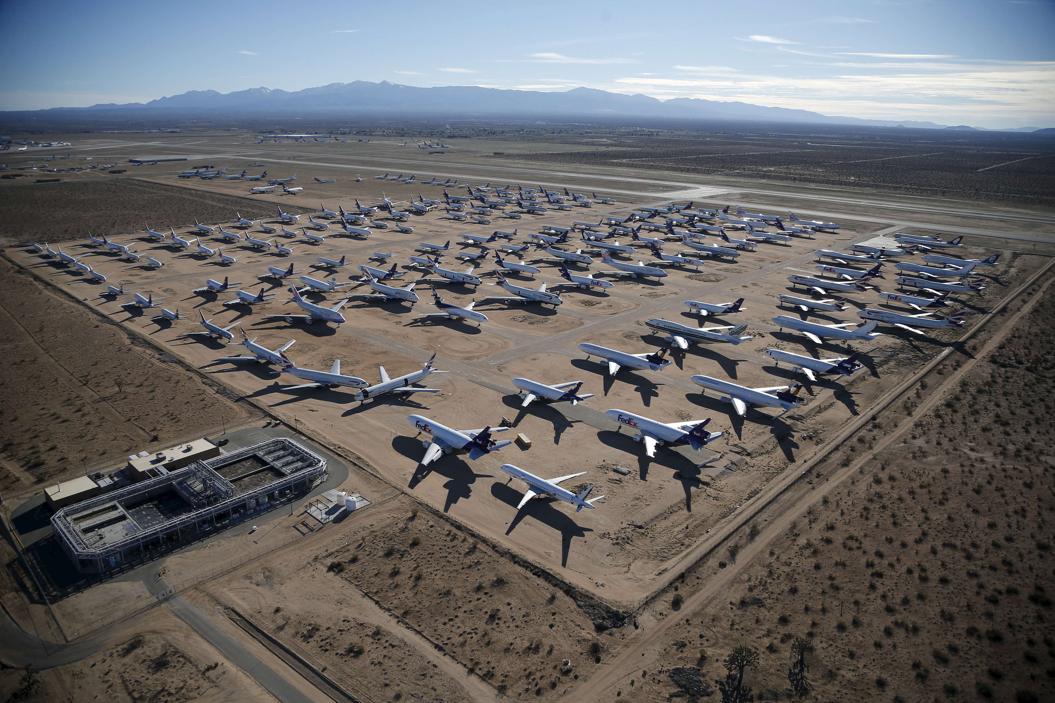 The Southern California Logistics Airport is located in Victorville, California ...