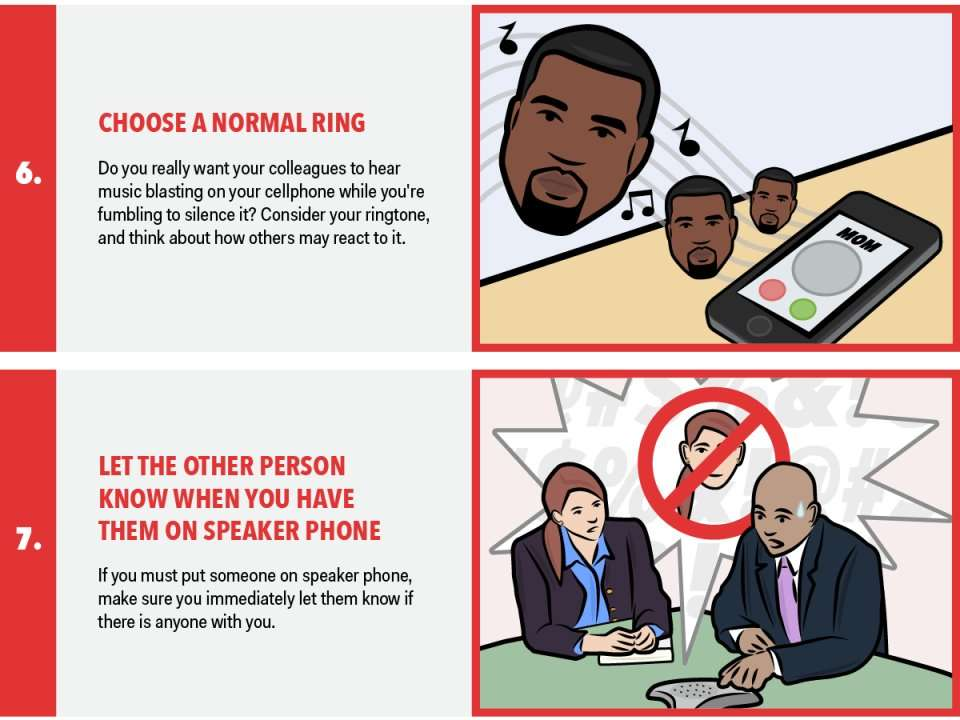 8 telephone etiquette tips 36 telephone etiquette tips tweet most of us use a telephone in the course of our work here is some great advice i picked up at a workforce development conference on how to excel at using this device to communicate with colleagues 8 ask, to whom am i.