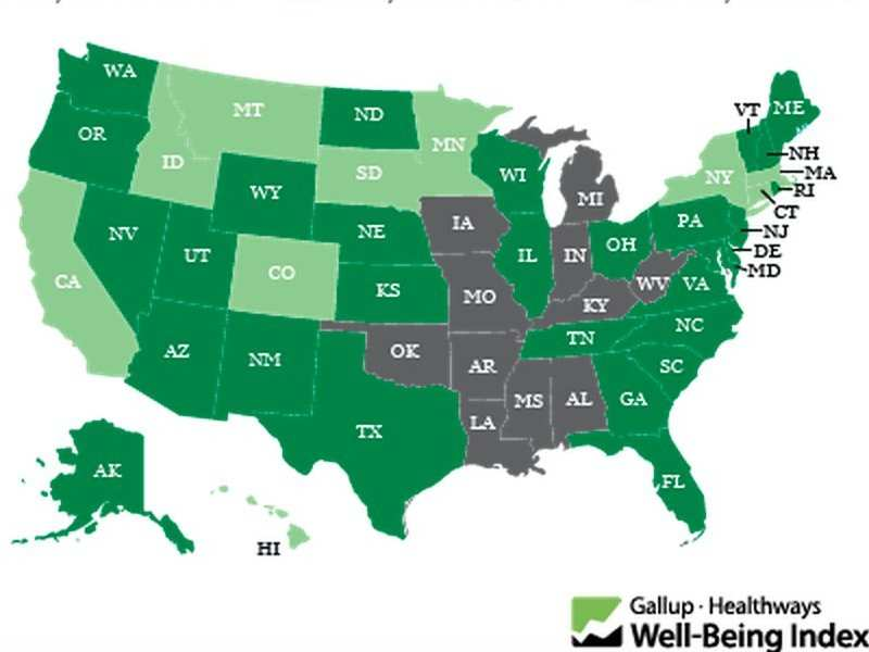 Here Are The Most And Least Obese States In The Us Business Insider India