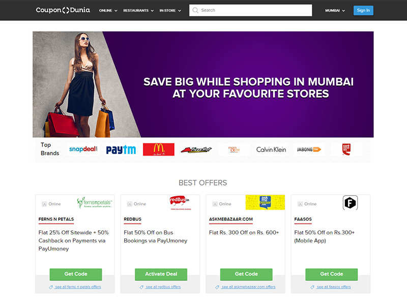 How Much Do Web Coupons Tell Retailers >> What Drives The Coupon Market In India Business Insider India