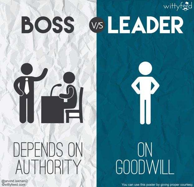 Use 'good will' not 'authority' to get things done