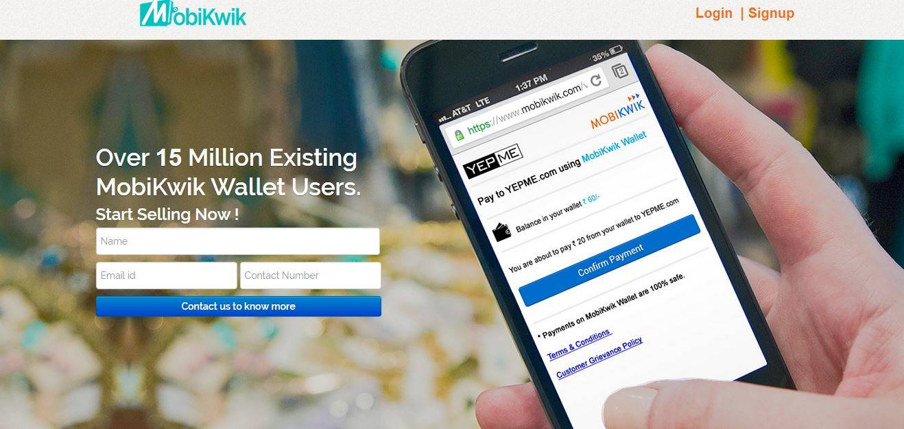 Living Room Zomato One Wallet To Pay For Them All Mobikwik Ties Up With