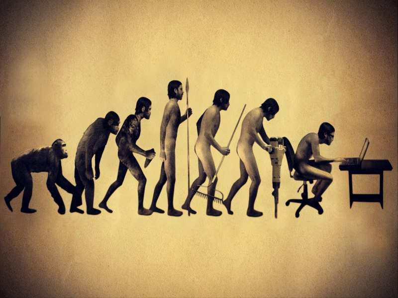 a research on the evolution of man The 2013 pew research survey varied the exact wording of the question about evolution to better understand public views on the issue beliefs about human and animal evolution tend to vary by gender, age and education men are somewhat more inclined than women to say that humans and.