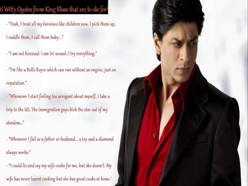 When Shah Rukh Khan S Witty Replies Won Our Hearts Business