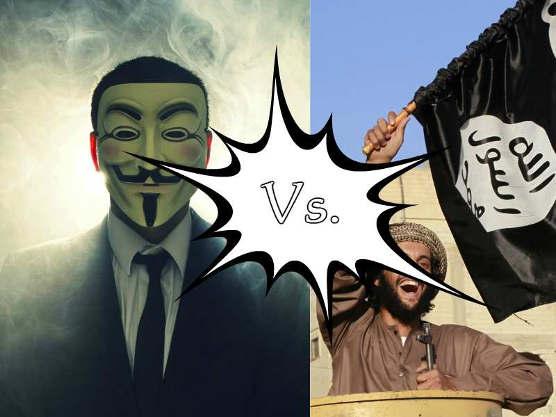Its Anonymous vs. ISIS after Paris Attacks | Business Insider India
