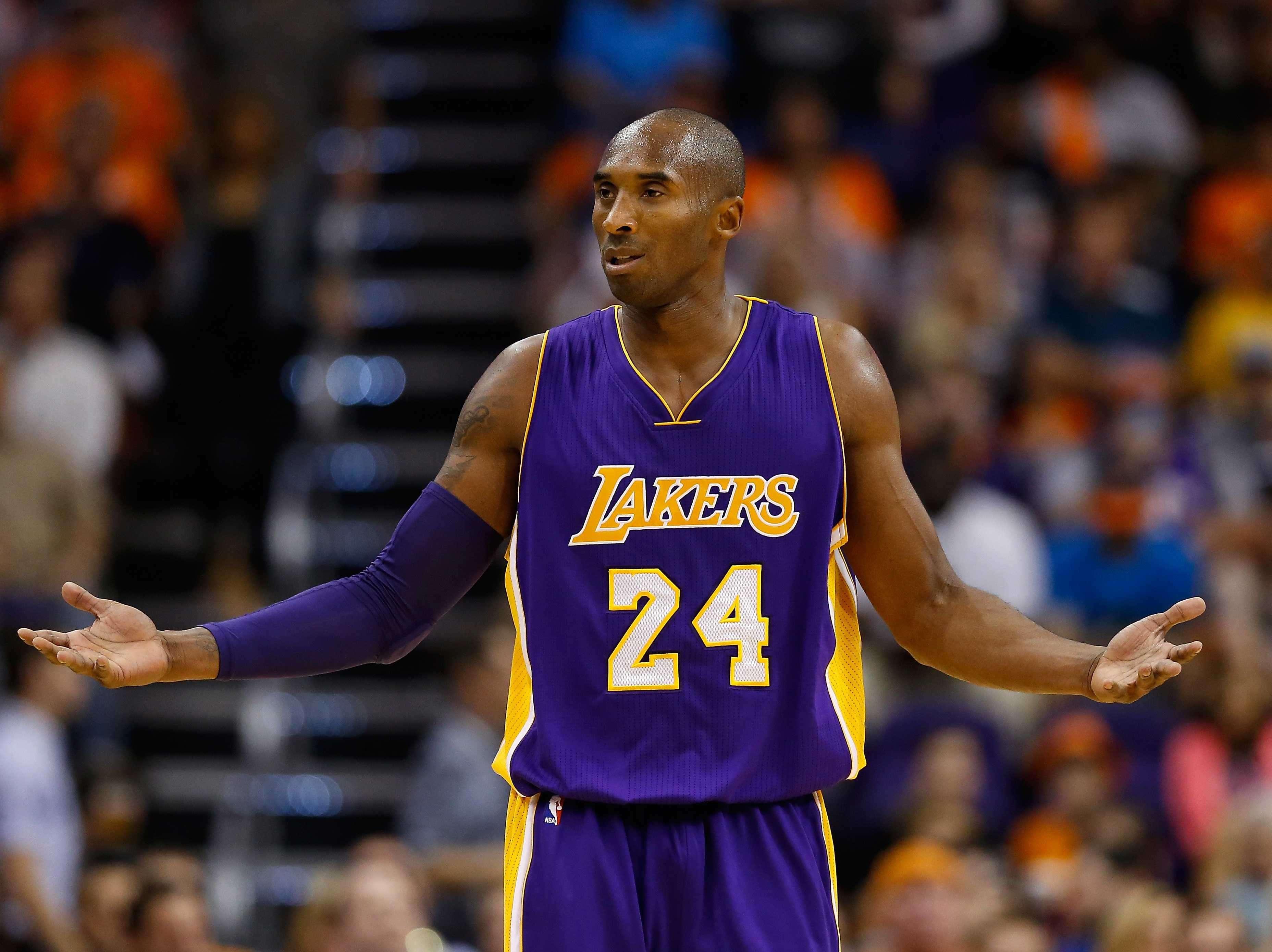 1. Kobe Bryant, Los Angeles Lakers — $25.0 million   Business Insider India
