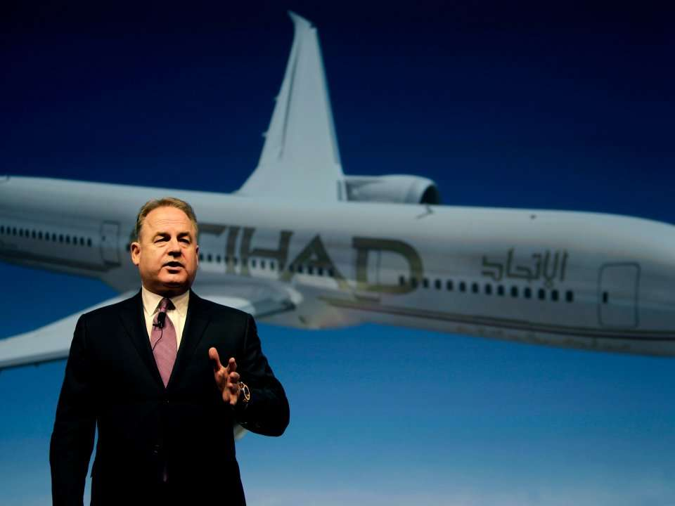 Etihad is an important Airbus and Boeing customer, but there's one plane it won't buy