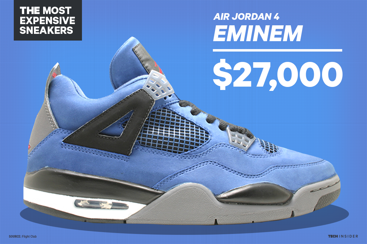 The 17 most expensive sneakers in history, from Air Jordan ...