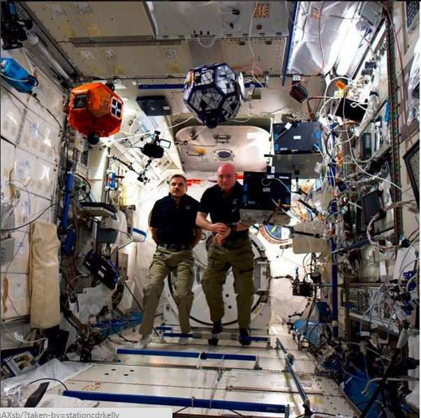 who are the astronauts in space right now -#main