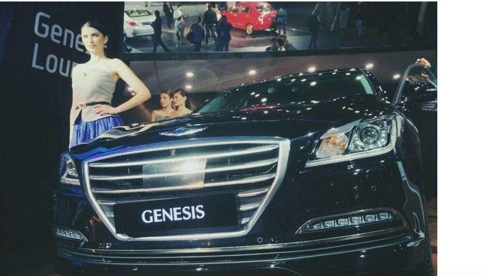 Auto Expo 2016 Hyundai unveils Genesis luxury sedan in India