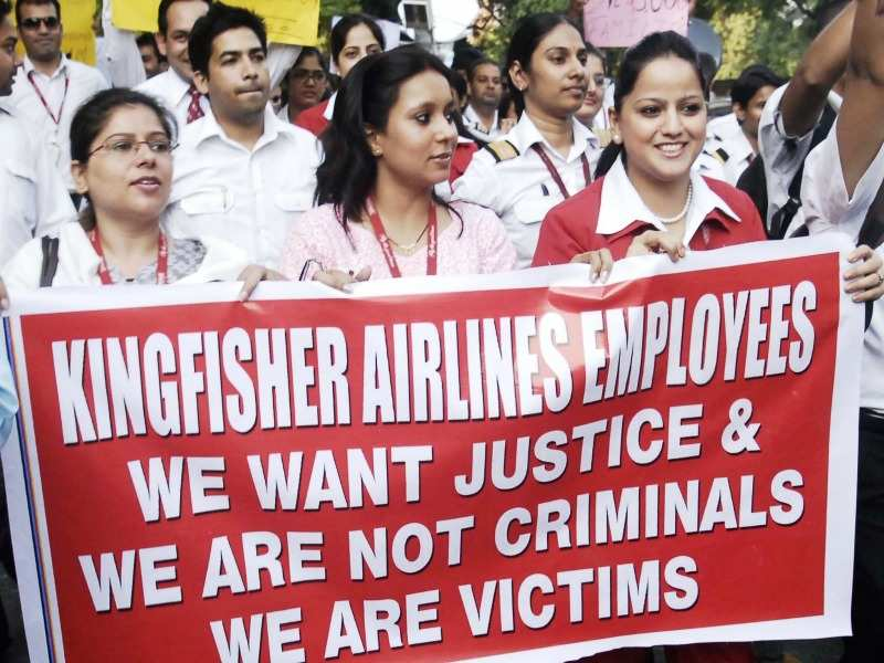 ... Kingfisher Airlines write to Mallya as he owes Rs 300 crore in salary