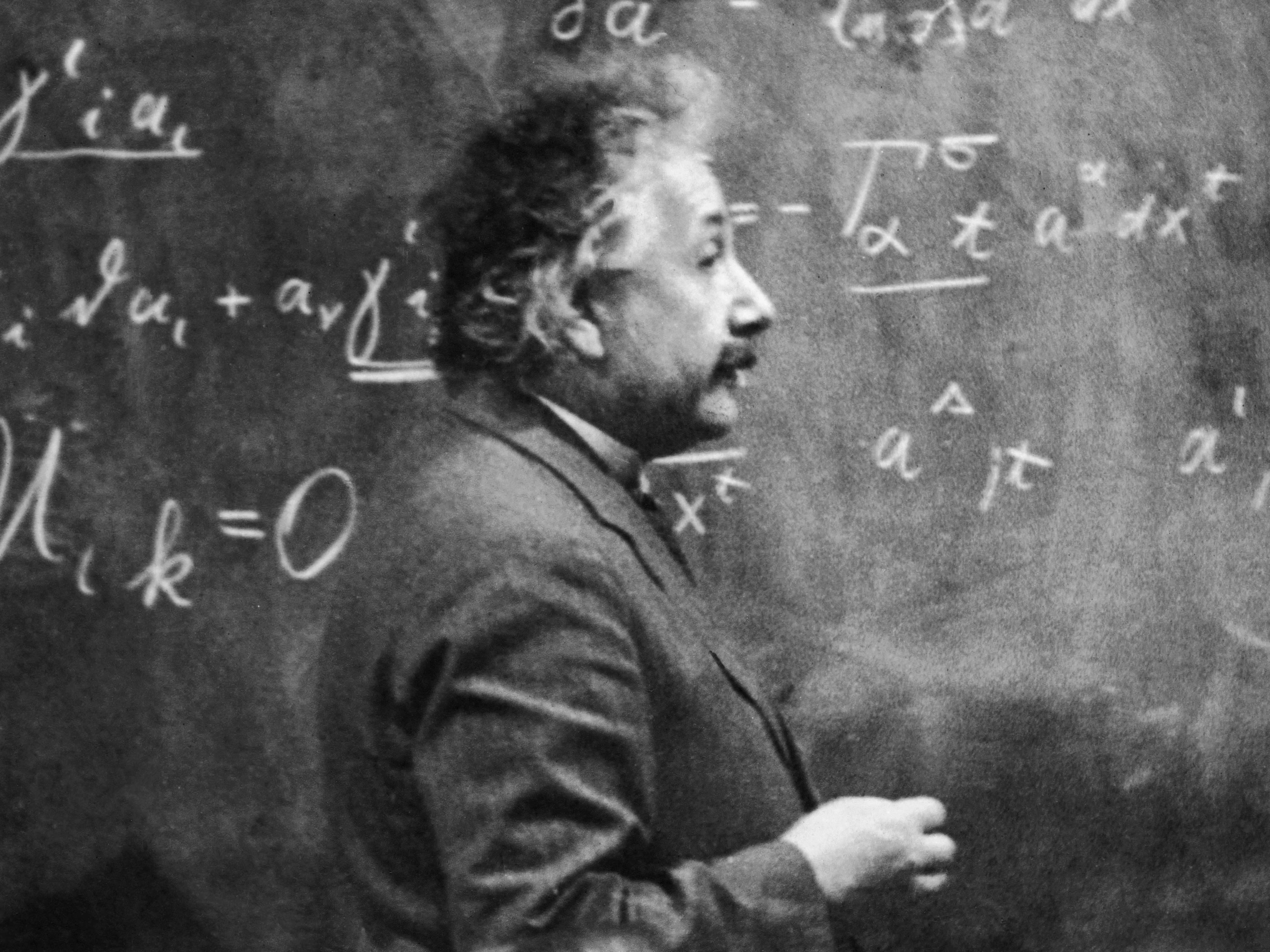 einstein died because he said no to life