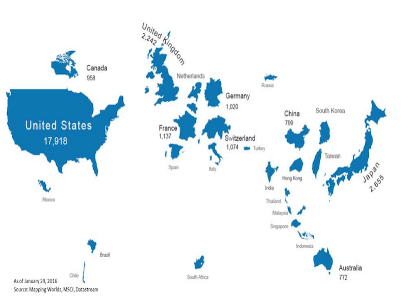 This world map shows countries scaled to the size of their stock this world map shows countries scaled to the size of their stock markets business insider india gumiabroncs Images
