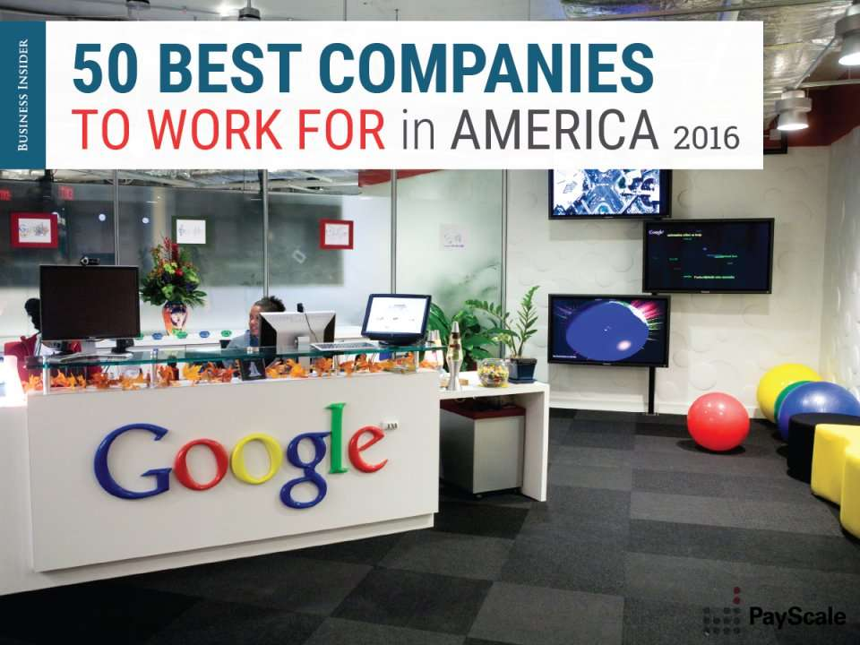 The 50 best companies to work for in america business for Best interior design companies to work for
