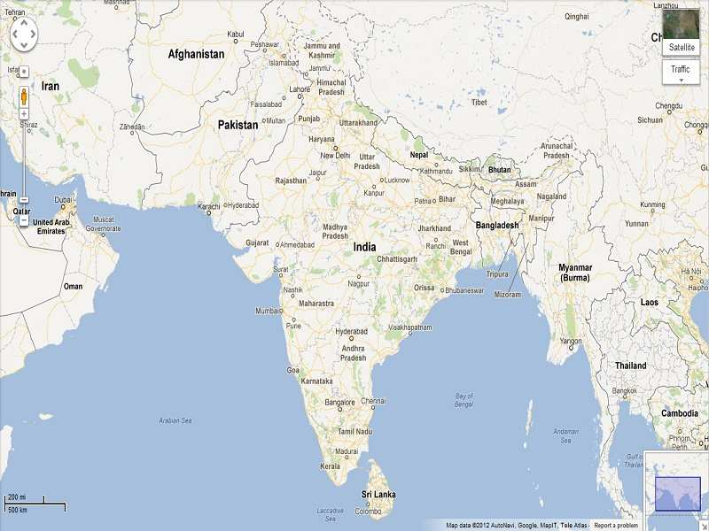 Google And Apple Might Soon Need A License For Satellite Mapping - Google india satellite maps