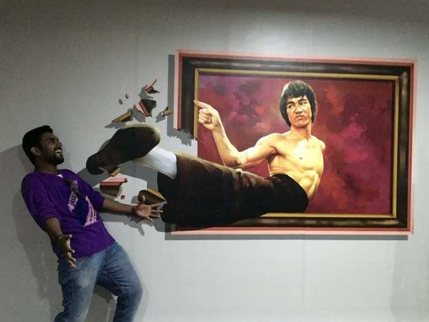 D Exhibition In Chennai : In pictures india s first interactive d art musuem