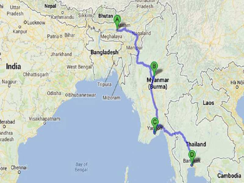 how to plan a trip to thailand from india