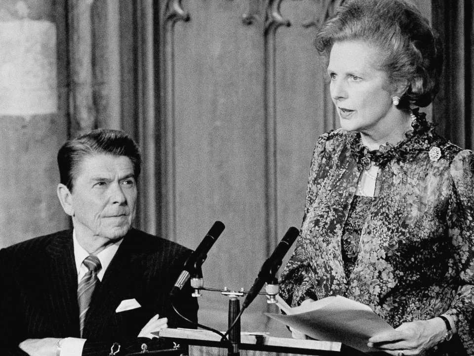 economic policies of thatcher Reagan vs thatcher: unpicking the special relationship and incentive-based economic policies the godfather of supply-side economics, criticised thatcher in.