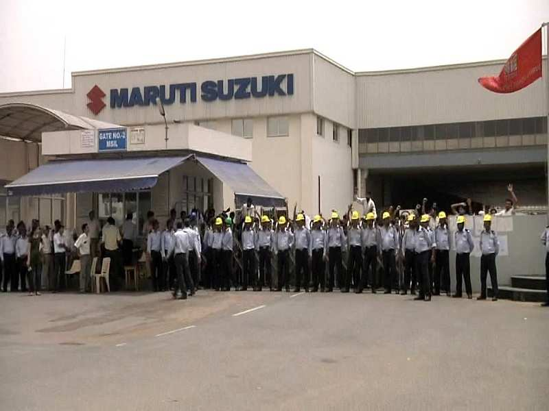 Labor Unrest At The Maruti Suzuki India Plant In Manesar