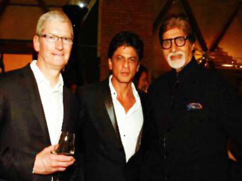 Bollywood superstar Shah Rukh Khan likely to be Apple's Indian brand  ambassador