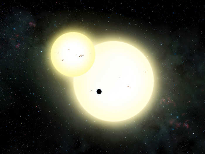 solar system with two suns - photo #10