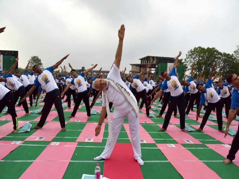 These 13 yoga exercises are strongly recommended by PM Modi for ...