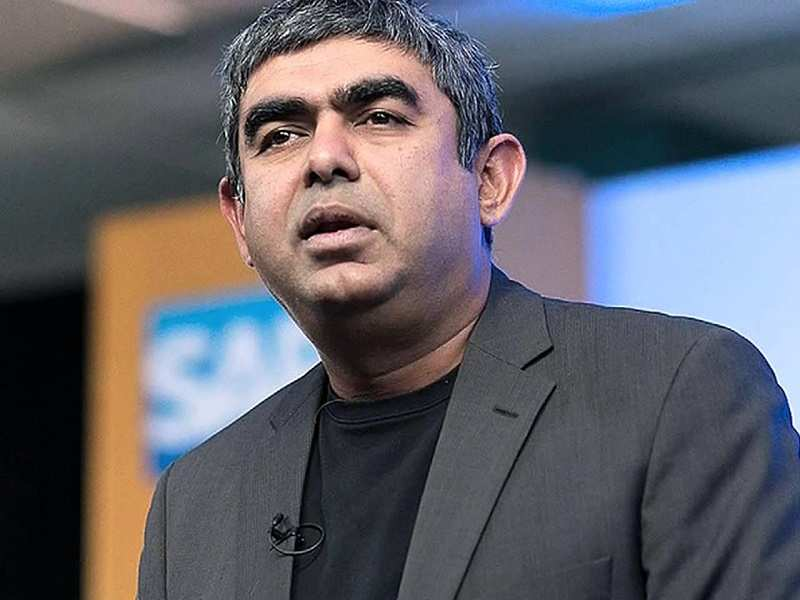 Vishal Sikka blames execution  failure for Infosys Q1 result  - Times of India